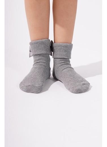Katia & Bony Newyork Çocuk Soket Çorap  Antrasit